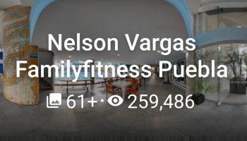 Nelson Vargas Familyfitness Puebla 2020