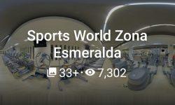 Sports World Zona Esmeralda Mayo 2020
